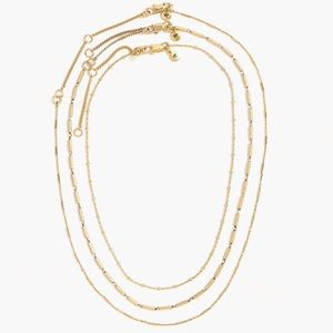 Madewell Delicate Necklaces (Layering)